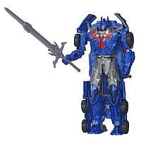 !Уценка! Игрушка автобот Оптимус Прайм - Optimus Prime, TF4, Flip&Change, Hasbro