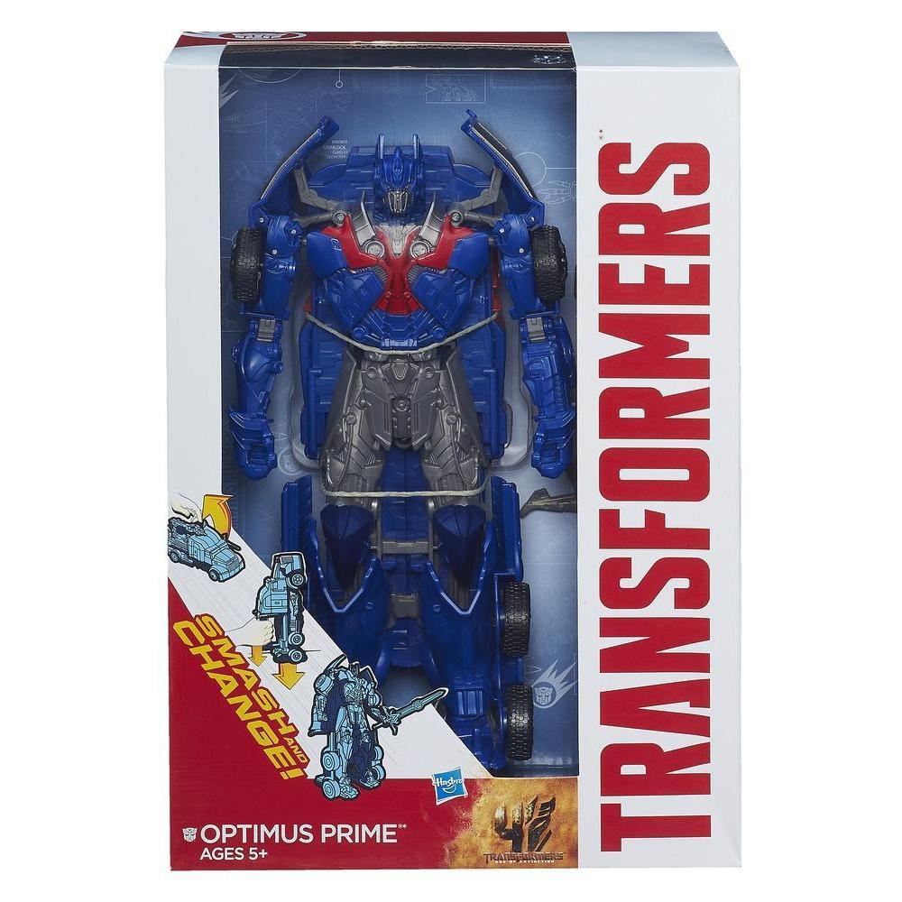 Игрушка автобот Оптимус Прайм - Optimus Prime, TF4, Flip&Change, Hasbro