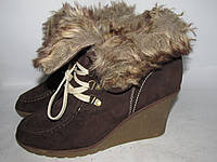 Стильные ботинки на платформе - 42р _ст. 27 см