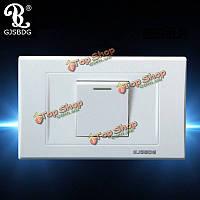 Gjsbdg настенный выключатель панель 250В 10А-один переключатель Bouble контроль