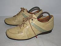 THINK _ стильные кроссовки туфли _кожа_24.5_Кожа