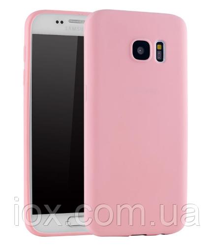 Ультратонкий пурпурный силиконовый чехол для Samsung Galaxy S7