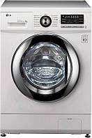 Стиральная машина LG FH096TD3, 1000 об/мин, 8 кг, дисплей, прямой привод, 13 прог., 55 см, дверца хром, Россия