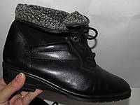 Нарядные красивые стильные утепленные ботинки 6р
