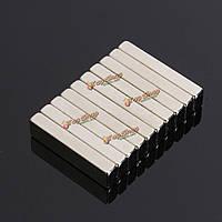 10шт N50 20x5x3мм сильный блок кубом магниты редкоземельные магниты неодим