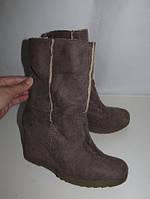 STREET _ стильные ботиночки теплые на платформе_37
