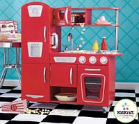 Детская кухня Vintage Red KidKraft 53173