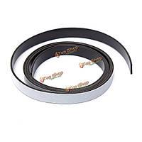 1mx10мм x1.5мм самоклеющиеся резиновые ленты полосы магнитного ремесло полоса