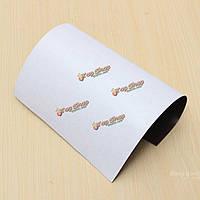 А4 297x210x1.52mm клей гибкий магнитный лист резины магнитного стикер