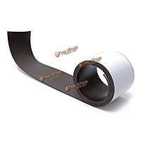 Магнитная лента самоклеющаяся гибкая 1 метр 50x1.5 мм