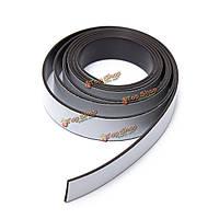 1м самоклеющиеся гибкий магнитный полоска сильный магнит лента 12.5x1.1мм