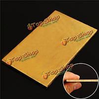 3мм x60мм x100мм латунь листовая пластина промышленности DIY эксперимент лист