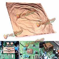 100шт 14x14см медный лист фольги  упаковочную бумагу для золочения искусства работы судов