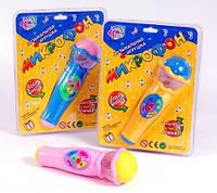 Музыкальная игрушка Микрофон 7043 3 вида