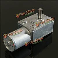 12v 6rpm обратимые высокий крутящий момент турбо мотор-редукторы червячные мотор постоянного тока GW370