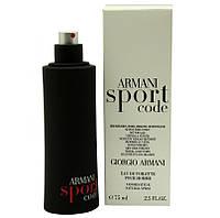 Туалетная вода - тестер Armani Sport Code (Армани Спорт Код), 125 мл