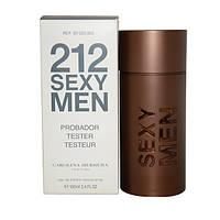 Туалетная вода - тестер Carolina Herrera 212 SEXY Men (Каролина Херрера 212 Секси Мен), 100 мл