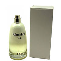 Туалетная вода - тестер Christian Dior Fahrenheit 32 (Кристиан Диор Фаренгейт 32), 100 мл