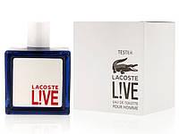 Туалетная вода - тестер Lacoste Live Pour Homme (Лакост Лайв Пур Хом), 100 мл