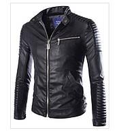 Новая модель! Стильная кожаная  куртка!
