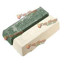 2шт кожи строп заточка абразивного полирования металлических соединений латуни шлифовальную пасту