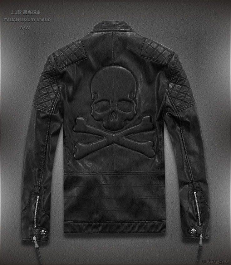 Новая модель! Стильная кожаная байкерская куртка