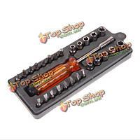 28в1 многофункциональный магнитный шестигранный отвертки установить ремонту аппаратных инструментов для бытовой техники