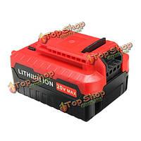 4.0АH 20В литий-ионный аккумулятор 4000мАh аккумулятор для портер кабеля pcc685l