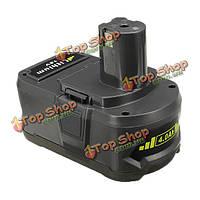 18v 4.0Аh 4000мАh литий-ионный аккумулятор аккумуляторная батарея для RYOBI P104 P103 P108
