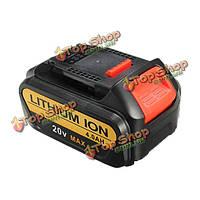 20В 4.0Аh 4000мАh литий аккумуляторная батарея ионная батарея питания инструмент для dewalt
