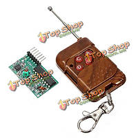 4-канальный РФ беспроводной пульт дистанционного управления модуль приемника