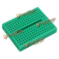 5шт зеленый 170 отверстий Mini solderless прототип макет для Arduino
