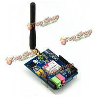 Сети GSM/GPRS щит с антенной для Arduino