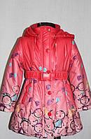 Курточка для девочки весна-осень