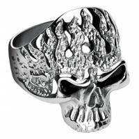 Мужское кольцо в виде черепа R7683