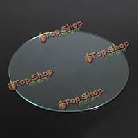 200мм х 3мм 3D принтер боросиликатного стекла круглая пластина для кровати с подогревом Prusa/Mendel