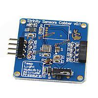 4в1 температура + давление + высота + датчик освещенности модуль RPI/Arduino
