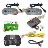 Игровой консоли комплект с контроллер USB геймпад для Raspberry пи 3 модели б / retropie