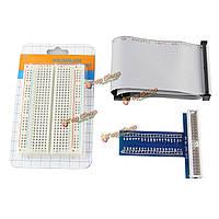 Разьемное 400 точка макетная + 40pin кабель + 40pin GPIO для Raspberry пи 2 режима б / б +