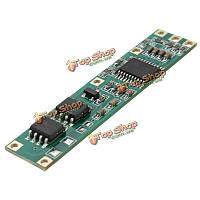Батарея bms защита pcb управление по пакету 3-4 18650 литий-ионных литиевых гальванических элементов