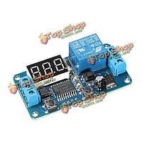 12 В постоянного тока LED дисплей цифровой Таймер задержки управления переключатель модуль ПЛК