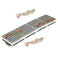 MAX 7219 Точечная матрица 4в1  8 x 8 дисплей 5p модуль для arduino