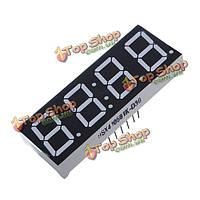 10шт 7-сегментный 4-значный 0.56-дюйма 12 штырей красный LED дисплей для Arduino