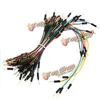 Новые solderless макет соединительный кабель провода комплект qty70