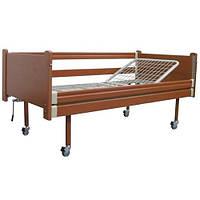 Кровать медицинская двухсекционная (одна секция металлическая) OSD-93