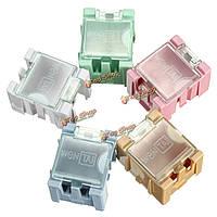 1шт Mini ОУР SMD чип конденсатор резистор компонент коробке 5 цветов