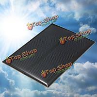 5V 1w 99мм x 69мм 200мА мини-солнечная батарея эпоксидной смолы фотогальваническая группа