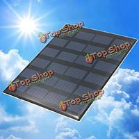 6V 1.5w моно 110мм x 140мм x 2мм 250мА мини-солнечные фотоэлектрические панели
