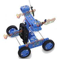 DIY резиновые колеса тележки Ветер №34 модель комплект для arduino diy ручной сборки