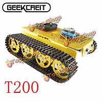 Geekcreit™ DiY T200 nodemcu комплект умный робот из алюминиевого сплава танк трек шасси гусеничного